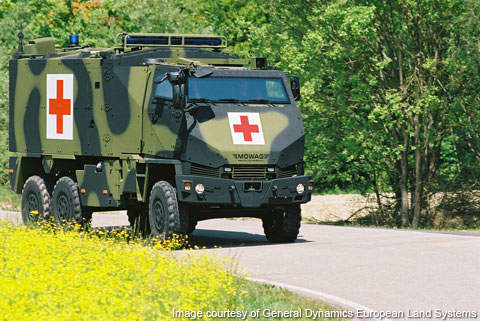 The protected version of Duro can be used as an ambulance, APC or for other missions.