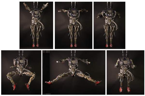 The robot is capable of balancing itself, moving freely and enacting a range of movements including walking, crawling, press-ups and star-jumps - Petman image courtesy of Boston Dynamics.