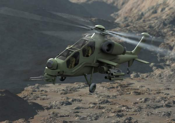 T129 is used in attack, reconnaissance and deterrent missions. Image courtesy of Agusta Westland.