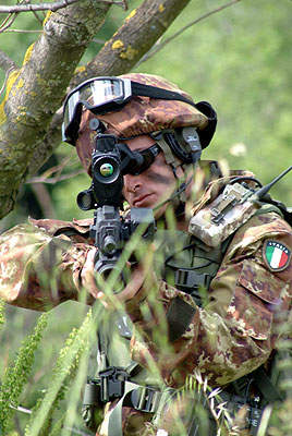 Industrial partners and italian armed forces are working closely to evaluate technologies for Soldato Futuro.