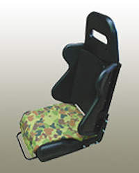 Military vehicle seating option