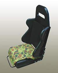 Military vehicle seating option