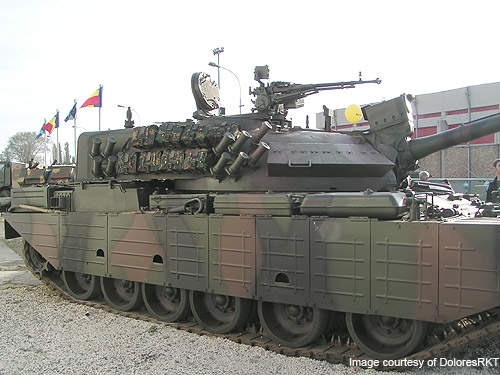 TR 85 M1, or Bizonul, is a main battle tank (MBT) produced by ROMARM for the Romanian Land Forces.