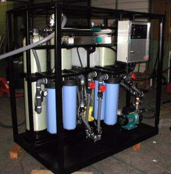 Mobile water purification systems are ideal for supplying water to disaster areas