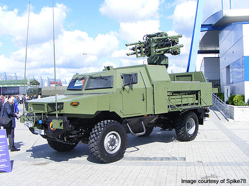 The armoured vehicle can be deployed in the transportation of troops in the battlefield, surveillance operations, air defence and command and control missions.