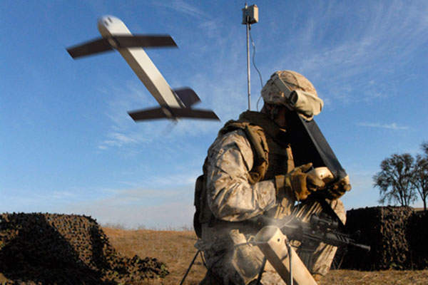 The Switchblade weapon has an operational range of 10km. Image: courtesy of AeroVironment, Inc.