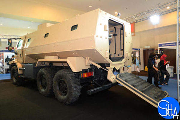 The Higuard armoured vehicle has a maximum operating weight of 21t. Image: courtesy of Renault Trucks Defense.