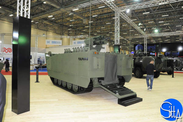 The latest Tulpar-S combat vehicle features amphibious characteristics. Image: courtesy of Ministère de la Défense.