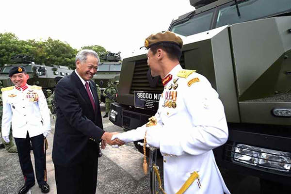 Peacekeeper PRV entered Singapore Armed Forces' (SAF) service in July 2015. Image: courtesy of Singapore government.
