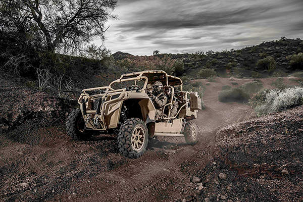 The US Special Operations Command (USSOCOM) ordered Polaris MRZR 4 vehicles in 2013. Image courtesy of Polaris Industries Inc.