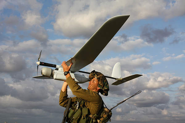 Skylark I-LEX is an improved version of the Skylark I-LE small UAS. Image: courtesy of Elbit Systems.