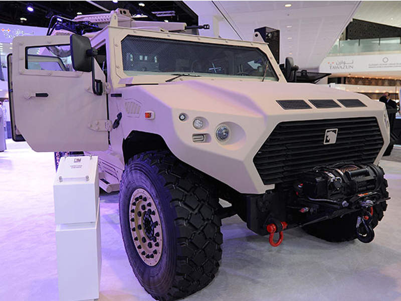 AJBAN SOV is based on the NIMR 4x4 chassis. Image courtesy of NIMR AUTOMOTIVE LLC.