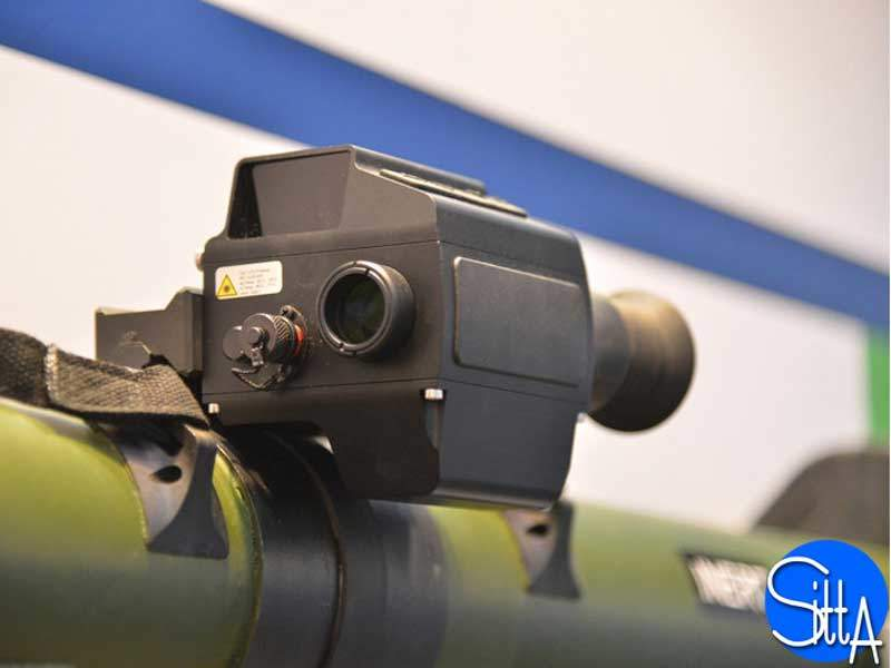 RGW 90 weapon system's sighting system weighs approximately 1kg. Image courtesy of Ministère de la Défense.