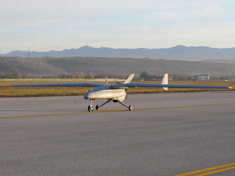 Falco EVO is the long-range variant of the Falco tactical UAV. Image courtesy of Leonardo – Finmeccanica – Società per azioni.