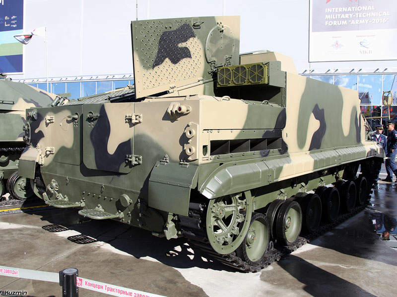 BT-3F armoured vehicle is operated by three crew members. Image courtesy of Vitaly V. Kuzmin.