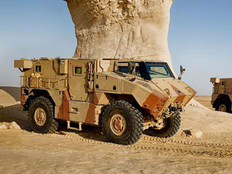 JAIS 6x6 offers protection against mines, improvised explosive devices (IEDs) and ballistic threats. Image courtesy of NIMR Automotive LLC.
