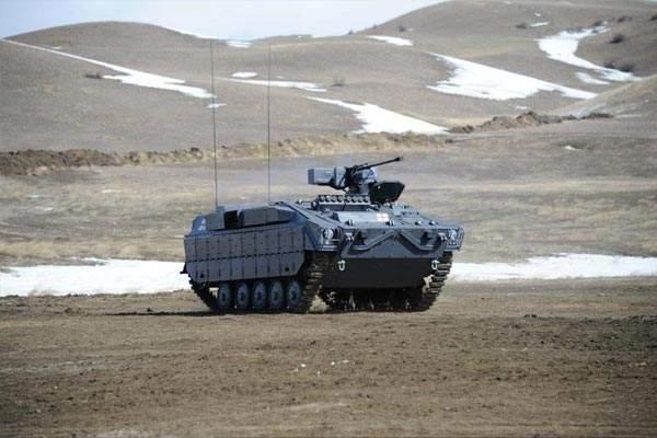 Lazika Infantry Fighting Vehicle offers STANAG Level IV mine blast protection. Image courtesy of WikIunker.