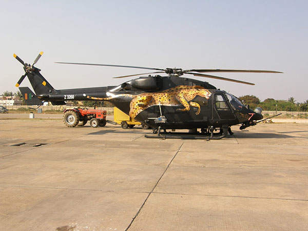 HAL Rudra is the Weapon System Integrated (WSI) version of the Dhruv Advanced Light Helicopter (ALH). Image courtesy of Ajai Shukla.
