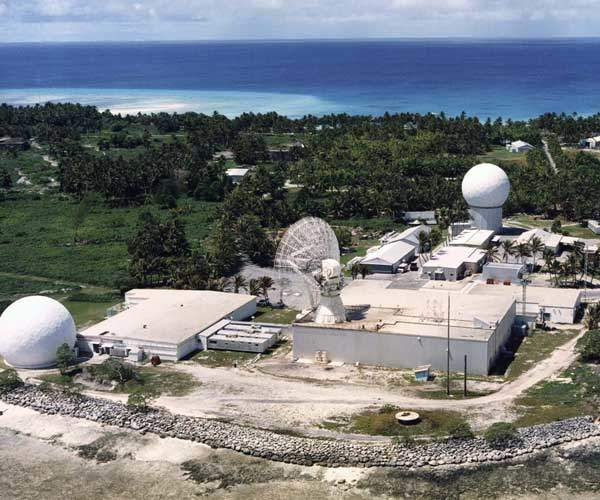 The Advanced Hypersonic Weapon (AHW) reached its target at the Ronald Reagan Ballistic Missile Defence Test Site at Kwajalein Atoll, located 2,300 miles southwest of Hawaii. Image courtesy of US Army.