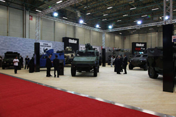 Tulpar was unveiled at the International Defence Industry Fair (IDEF) in May 2013. Image courtesy of Otokar.