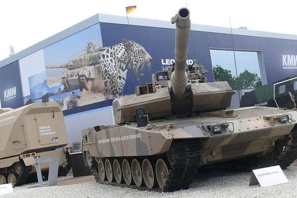 The battle tank was unveiled during the Eurosatory 2010 exhibition in France. Image courtesy of AMB Brescia.