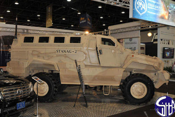 The MRAP armoured vehicle offers superior off-road mobility. Image courtesy of Ministère de la Défense.