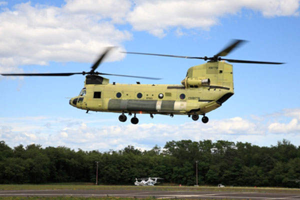 Maiden flight of the first ICH-47F Chinook helicopter was held in June 2013.