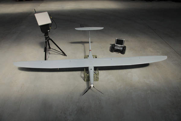 The UAV is controlled by two light ground control stations. Image: courtesy of WB Electronics SA.