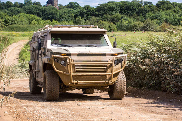 The Puma APC can accommodate six personnel and two crew members. Image courtesy of STREIT Group.