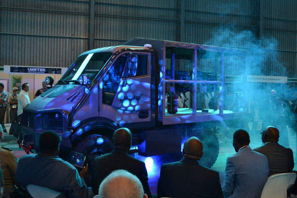 The Oribi MUT was unveiled at the 2014 Africa Aerospace and Defence exhibition. Image: courtesy of NGAGE.