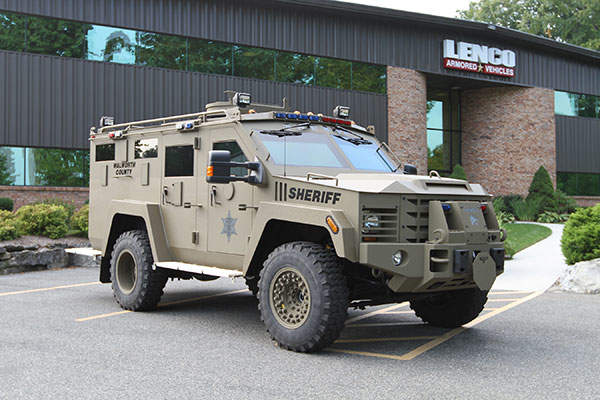 The vehicle can accommodate up to 12 personnel. Image: courtesy of Lenco Armored Vehicles.
