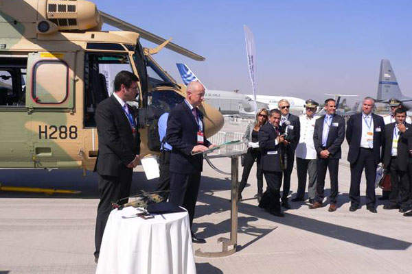 The first AS532 ALe Cougar was delivered to the Chilean Army in March 2014. Image: courtesy of Airbus Helicopters.