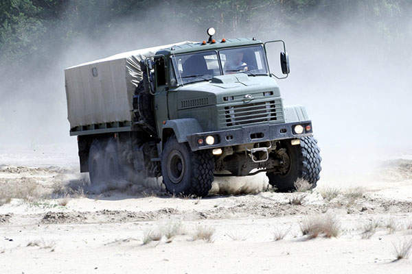 The Lao People's Democratic Republic placed an order for KrAZ-6322 trucks in December 2014. Image: courtesy of PJSC