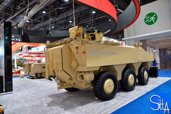 The PARS 6x6 CBRN vehicle is equipped with a remotely-operated stabilised weapon system. Image: courtesy of Ministère de la Défense.
