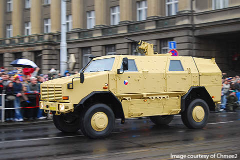 The Czech Republic ordered four Dingo 2 units in 2007.