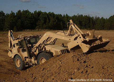 JCB is producing 800 HMEE-I's for the US Army.