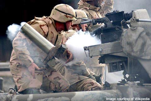 Training for military equipment