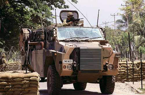 The vehicle was operationally deployed to Iraq in April 2005 and the US Army and Iraqi defence officials have expressed interest in the Bushmaster after observing its capabilities with the Australian Army.