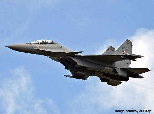 The Indian Air Force's SU-30 MKI aircraft will be fitted with the BrahMos air launch missile variant by 2014.