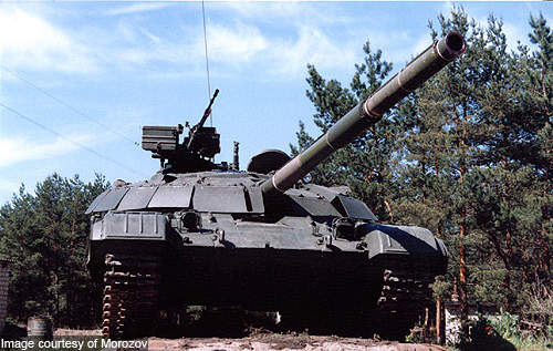 The tank is armed with 125mm smoothbore gun, 12.7mm anti-aircraft machine gun and coaxial 7.62mm machine gun.