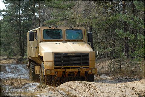SPV400 vehicle