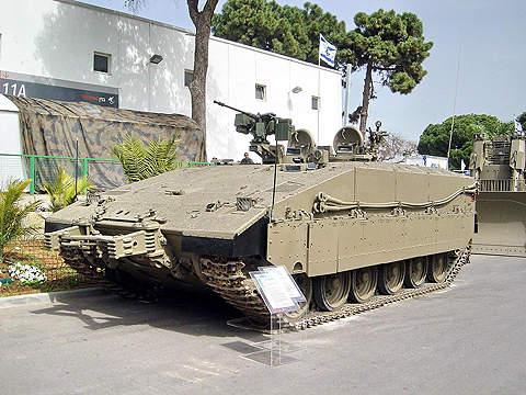 Namer armoured IFVs