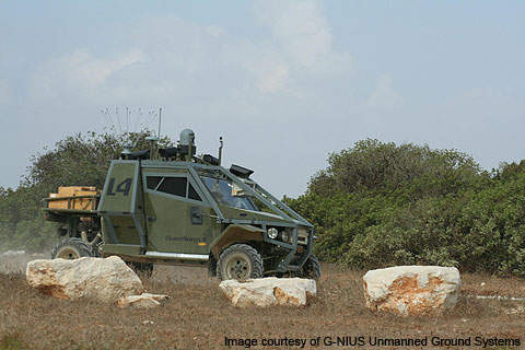 AvantGuard was delivered to the Israeli Defence Forces Army (IDF) on 7 June 2010.