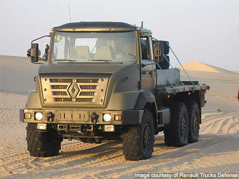 Another member of the Sherpa family, the Sherpa 10 is a 6×6 vehicle used by forward and logistics units.