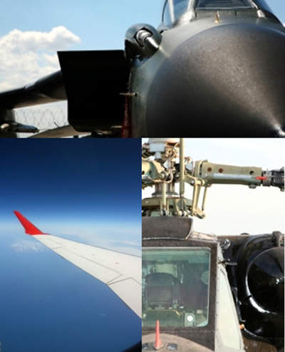 Image of Colibrys products developed for the Aerospace Industry