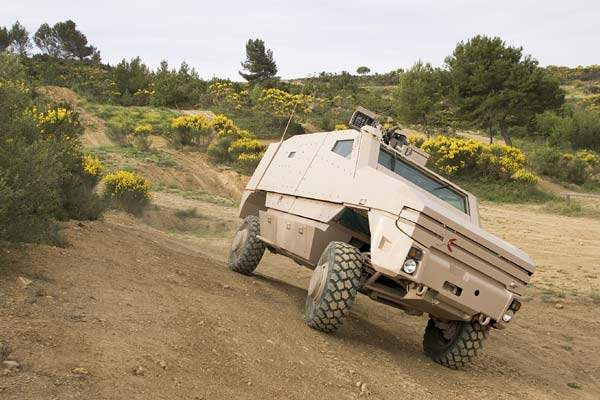 Aravis can be fitted with a battle management system and a remotely controlled weapon system.