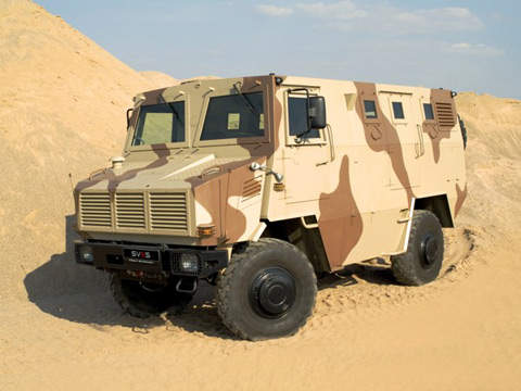 Bullet Proof Military Truck