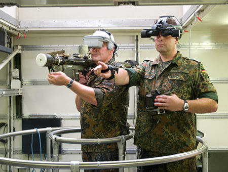 Virtual Reality in Aerospace and Defence: Media Trends