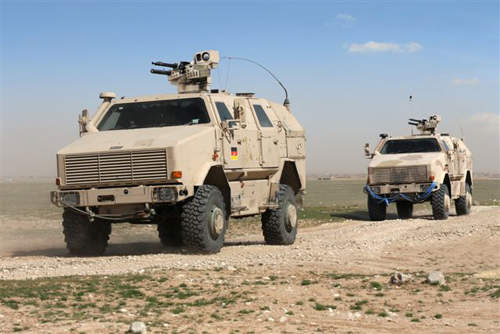 Dingo 2 Armoured Vehicle