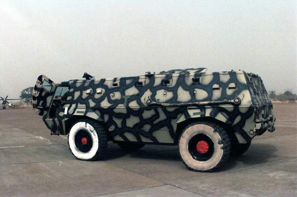 Fahd APC of the Economic Community Military Observation Group (ECOMOG). Image courtesy of Paul R Caron, US Air Force.